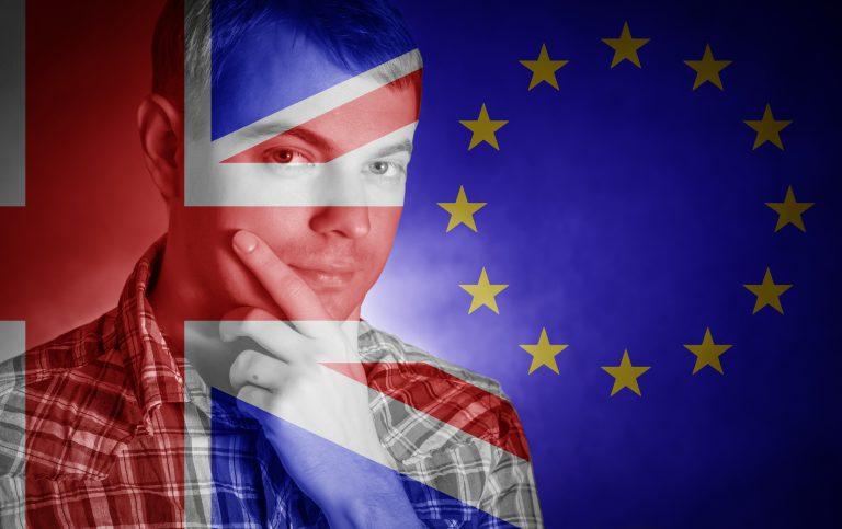 Difficult decision: Brexit - Conceptual image.