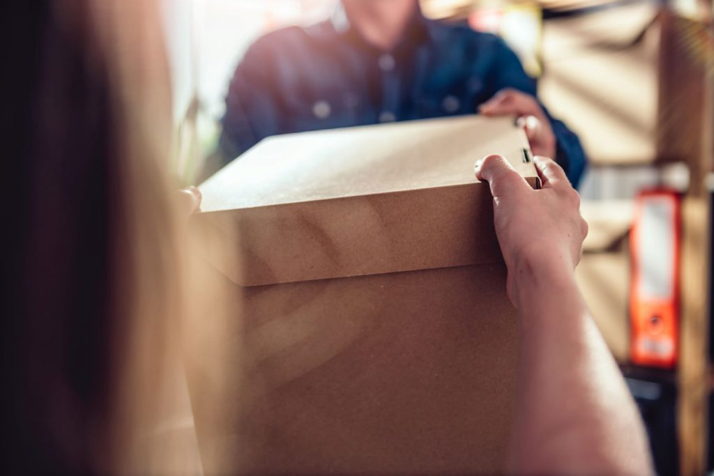 What to do if you receive someone elses package